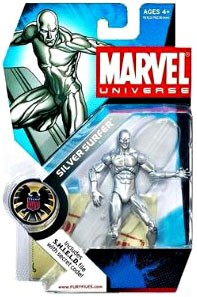 Marvel Universe: Series 1 - Silver Surfer 3.75 Action Figure #3