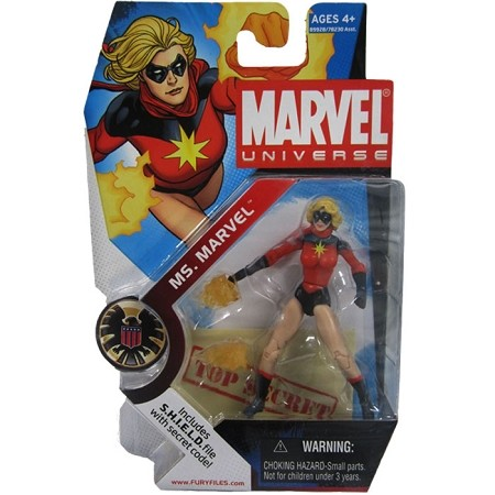"Marvel Universe: Series 1 - Ms. Marvel 3.75"" Action Figure #23"