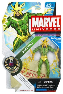 "Marvel Universe: Series 1 - Electro 3.75"" Action Figure #25"