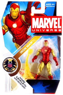 Marvel Universe: Series 1 - Iron Man (Classic) Action Figure #21