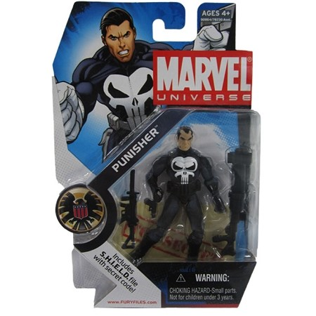 "Marvel Universe: Series 1 - Punisher 3.75"" Action Figure #20"
