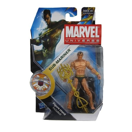 "Marvel Universe: Series 1 - Sub Mariner 3.75"" Action Figure #34"