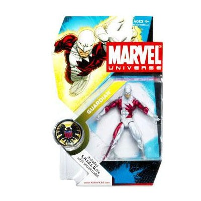 "Marvel Universe: Series 1 - Guardian 3.75"" Action Figure #31"