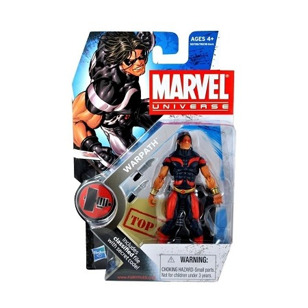 "Marvel Universe: Series 2 - Warpath 3.75"" Action Figure #3"
