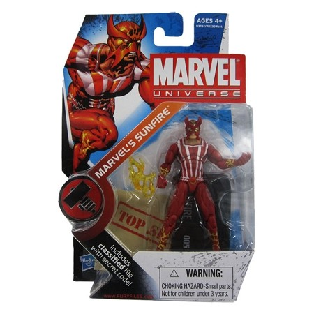 "Marvel Universe: Series 2 - Marvel's Sunfire 3.75"" Action Figure #5"