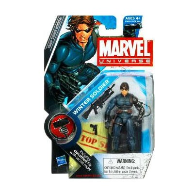 "Marvel Universe: Series 2 - Winter Soldier 3.75"" Action Figure #22"