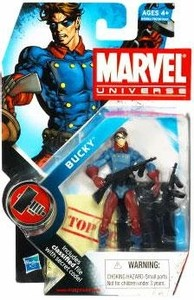 "Marvel Universe: Series 2 - Bucky 3.75"" Action Figure #10"