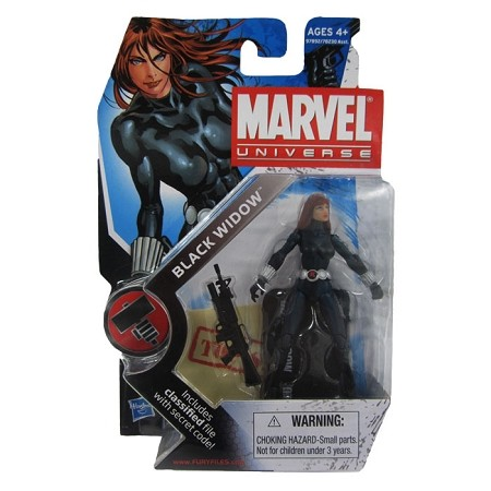 "Marvel Universe: Series 2 - Black Widow 3.75"" Action Figure #11"