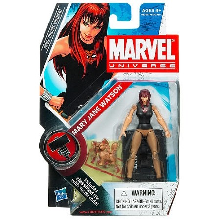 "Marvel Universe: Series 2 - Mary Jane Watson 3.75"" Action Figure #23"
