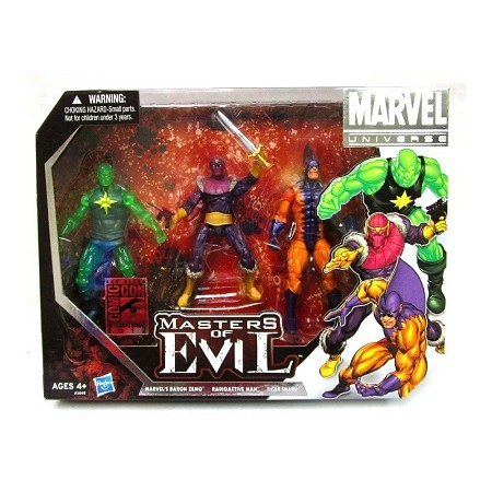 Marvel Universe: Masters of Evil Action Figure Set (SDCC 2012 Exclusive)