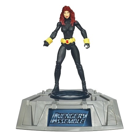 Marvel Comic Series: The Avengers - Black Widow Action Figure w/ Light-Up Base (Toys R Us Exclusive)