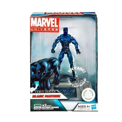 Marvel Comic Series: Black Panther Action Figure w/ Light-Up Base (Toys R Us Exclusive)