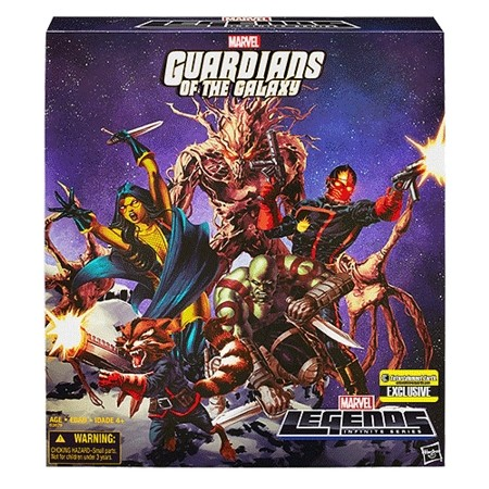 Marvel Infinite Series: Guardians of the Galaxy Comic Edition 5-Pack Action Figure Set (Entertainment Earth Exclusive)