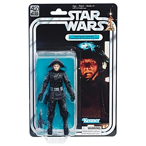 "Star Wars: The Black Series - Death Squad Commander 6"" Action Figure (40th Anniversary Legacy Pack)"