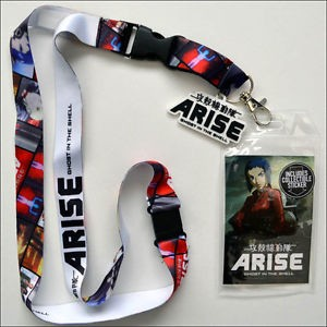 Ghost in the Shell Arise Lanyard