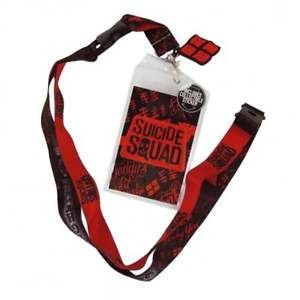 DC Comics: Suicide Squad Red Lanyard