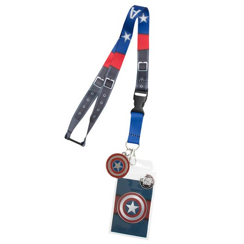 Marvel: Captain America Suit-Up Lanyard