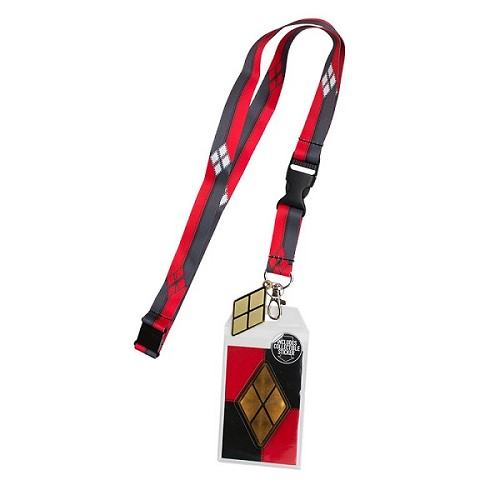DC Comics: Harley Quinn Suit-Up Lanyard