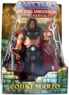 "Mattel Masters of the Universe Classics: Count Marzo 6"" Action Figure"