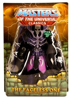 "Mattel Masters of the Universe Classics: The Faceless One 6"" Action Figure"