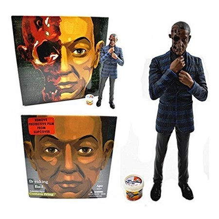 "Breaking Bad: Gus Fring Burned Face 6"" Action Figure (Entertainment Earth Exclusive)"