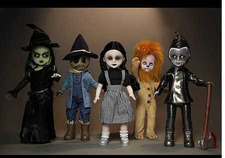 "Living Dead Dolls: Wizard of Oz 10"" Doll Set of 5"