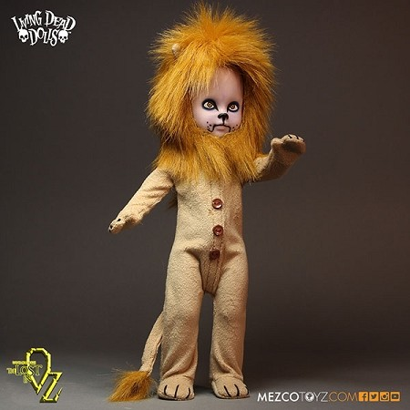 "Living Dead Dolls: Teddy as the Lion 10"" Doll"