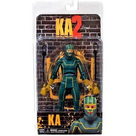 "NECA Kick-Ass 2: Kick-Ass 7"" Scale Action Figure"