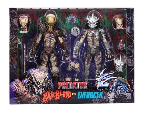 "NECA Predator: Bad Blood Vs. Enforcer 7"" Scale Action Figure 2-Pack"