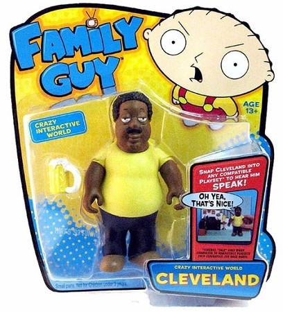 Family Guy: Crazy Interactive World - Cleveland Figure