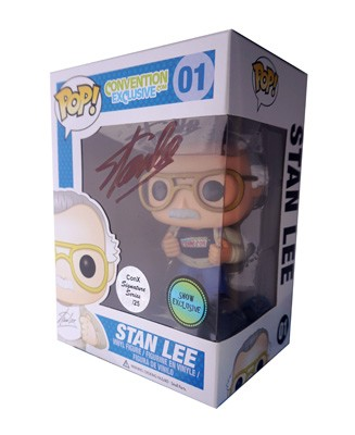 POP! Signature Series: Stan Lee New York Comic Con Vinyl Figure #1 [Signed by Stan Lee]