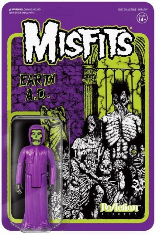 "Super7 ReAction: Misfits - The Fiend ""Earth A.D."" Action Figure"