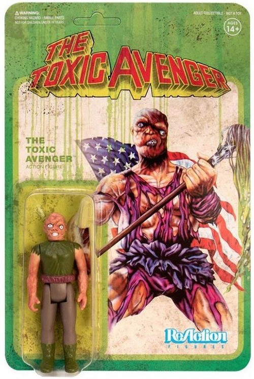 Super7 ReAction: The Toxic Avenger Action Figure