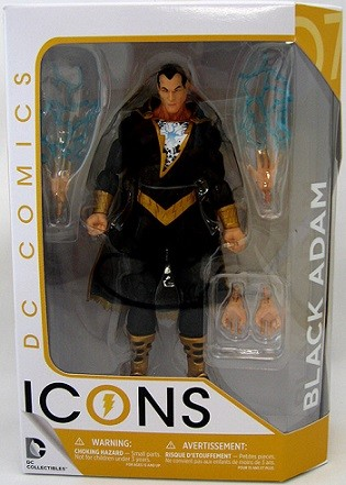 DC Collectibles: DC Icons - Black Adam Forever Evil Action Figure #7