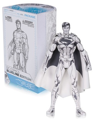 DC Collectibles: DC Comics Jim Lee Blueline Superman Action Figure