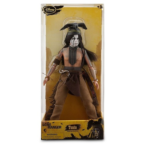 "Disney Parks: The Lone Ranger - Tonto 12"" Action Figure (Disney Parks Exclusive)"