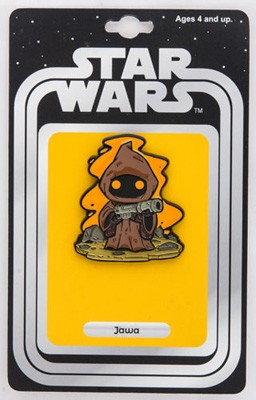 Star Wars: Jawas Lapel Pin w/ Vintage Card Back (Our NYCC Exclusive)