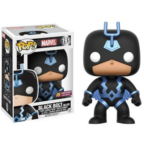 POP! Marvel: Black Bolt [Blue] Vinyl Bobblehead Figure #191 (Previews Exclusive)