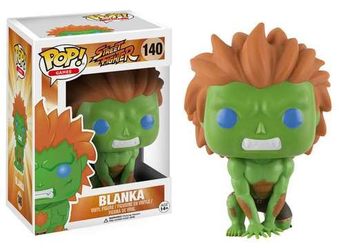 POP! Games: Street Fighter - Blanka Vinyl Figure #140