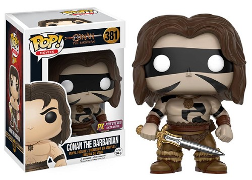 POP! Movies: Conan The Barbarian - Conan [Warpaint] Vinyl Figure #381 (Previews Exclusive)