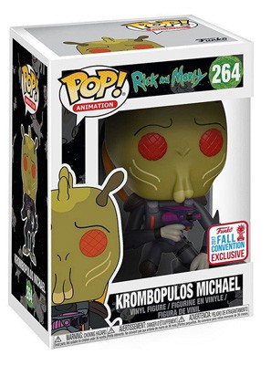 POP! Animation: Rick and Morty - Krombopulos Michael Vinyl Figure #264 (NYCC 2017 Exclusive)*