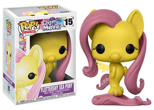 POP! Animation: My Little Pony: The Movie - Fluttershy Sea Pony Vinyl Figure #15