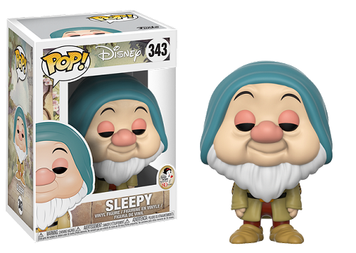 POP! Disney: Snow White - Sleepy Vinyl Figure #343