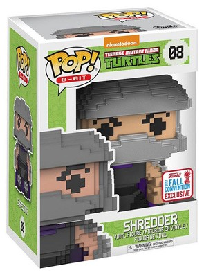 POP! 8-Bit: Teenage Mutant Ninja Turtles - Shredder Vinyl Figure #8 (NYCC 2017 Exclusive)*