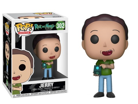 POP! Animation: Rick & Morty - Jerry Vinyl Figure #302