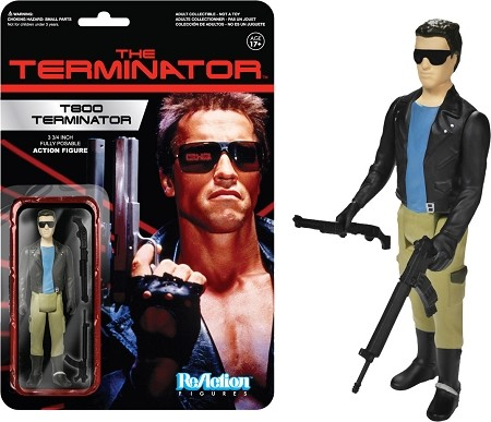 Funko ReAction: Terminator - 'T-800' Action Figure