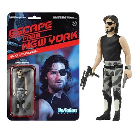 Funko ReAction: Escape from New York - Snake Plissken Action Figure