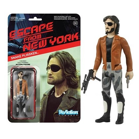 Funko ReAction: Escape from New York - Snake Plissken w/ Jacket Action Figure