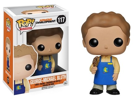 POP! Television: Arrested Development - Banana Stand George Michael Bluth Vinyl Figure #117