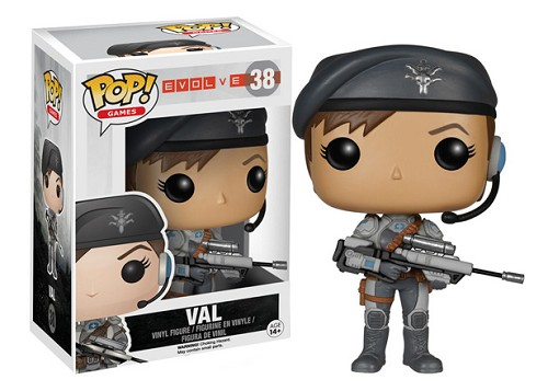 POP! Games: Evolve - Val Vinyl Figure #38
